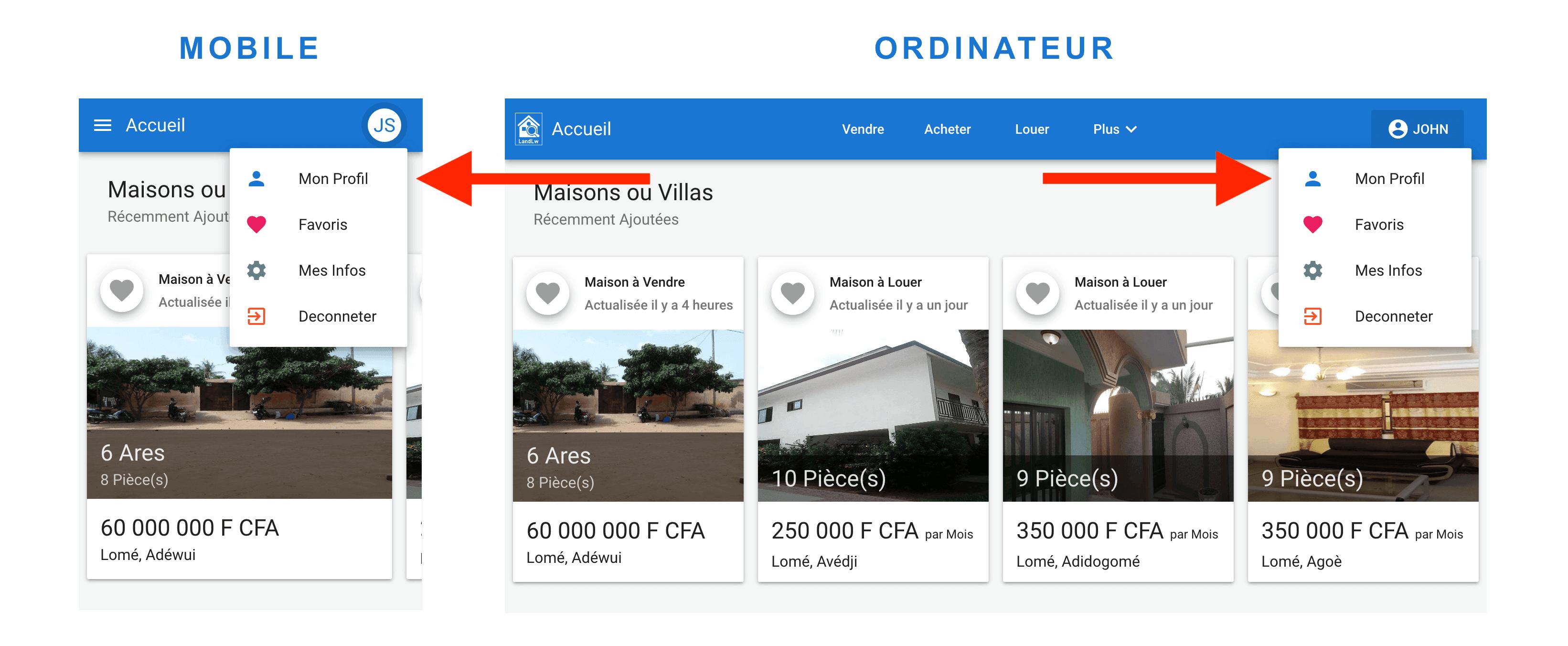 Comment ajouter une maison ou villa  à louer sur LandLw
